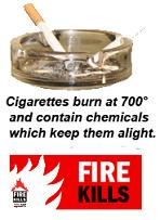 cigarettes start embarrassing and deadly fires